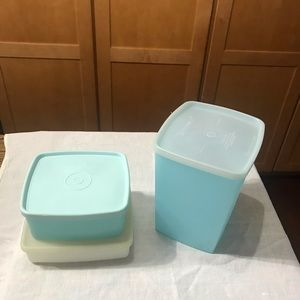 TUPPERWARE 3 PC FREEZER/PANTRY STORAGE